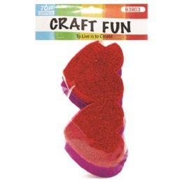 96 of Eva Double Heart Craft Fun
