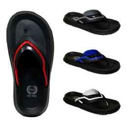 48 of Men's Assorted Color Slippers
