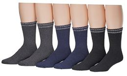 6 of Yacht & Smith Mens Cotton Thermal Boot Socks