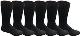 6 of Yacht & Smith Men, Hunting Hiking Backpacking Thermal Sock (navy)