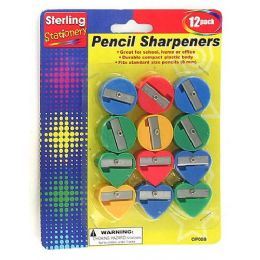 72 of Fun Shape Pencil Sharpeners