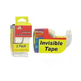 72 of 2 Pack Invisible Tape Dispensers