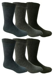 6 of Yacht & Smith Men's Thermal Crew Socks, Cold Weather Thick Boot Socks Size 10-13