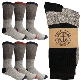 6 of Yacht & Smith Womens Cotton Thermal Crew Socks , Warm Winter Boot Socks 10-13