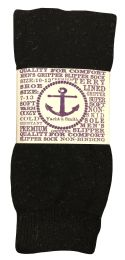 6 of Yacht & Smith Mens Thermal Non Slip Tube Socks, Gripper Bottom Socks
