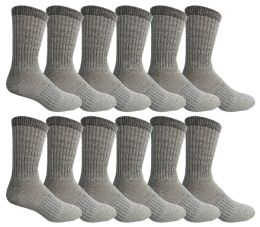 12 of Yacht & Smith Mens Terry Lined Merino Wool Thermal Boot Socks
