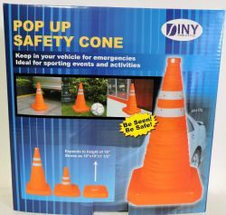24 of Pop Up 16 Inch Safety Cone Emergency Sporting Events And Kids Activities