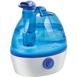 6 of Comfort Zone .6-Gallon Ultrasonic Cool Mist Humidifier