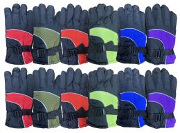 12 of Yacht & Smith Kids Thermal Sport Winter Warm Ski Gloves