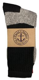 240 of Yacht & Smith Mens Cotton Thermal Socks Pallet Deal