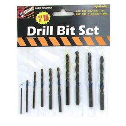 75 of 10 Pack Drill Bit Set