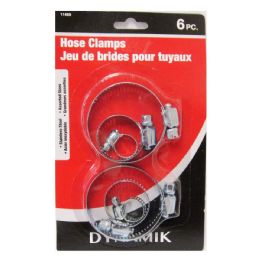 96 of 6 Piece Deluxe Hose Clamps