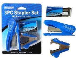 72 of 3 Piece Stapler Set
