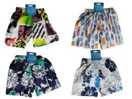 144 of Kid's Swimming Trunks 4 Asst Designs