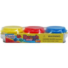 72 of 3 Piece Play Dough Set