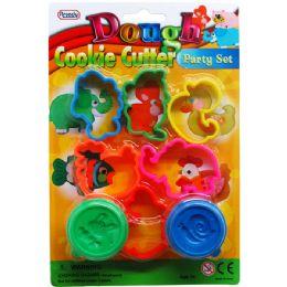 72 of Eight Piece Play Dough Molder Set
