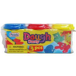 48 of 3 Piece Dough Play Set