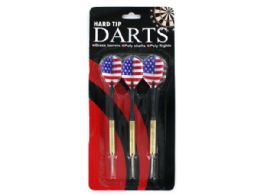 72 of Hard Tip Darts With American Flag Design