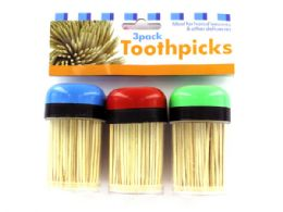 36 of Toothpicks In Containers Set