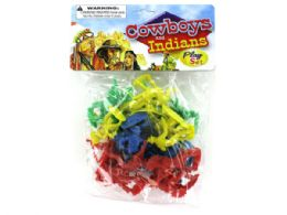 72 of Cowboys And Indians Play Set