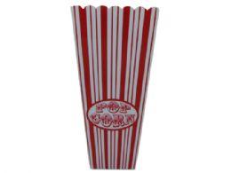 60 of 35 Oz. Red Striped Popcorn Bucket
