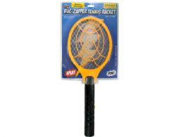 12 of Battery Operated Bug Zapper Tennis Racket