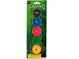 72 of Casino Poker Chips Set