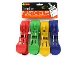 72 of Jumbo Plastic Clips