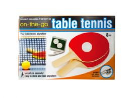 12 of Portable Table Tennis Set