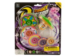 72 of Super Spinning Top Toy With Extra Colorful Discs