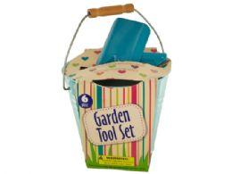 12 of Garden Tool Set In Bucket