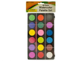 36 of Watercolor Paint Palette Set With Brush