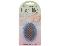 60 of 2 In 1 Compact Foot File