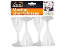 54 of Plastic Martini Shot Glasses