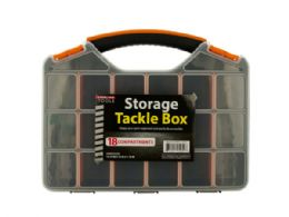 12 of Storage Tackle Box With 18 Compartments