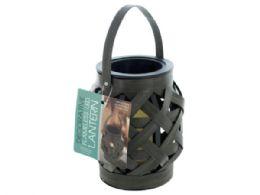 12 of Decorative Basket Weave Lantern With Led Candle