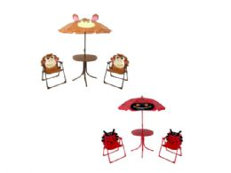 3 of Kids Ladybug & Monkey Patio Set