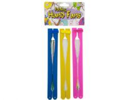 72 of Folding Hand Fans Set