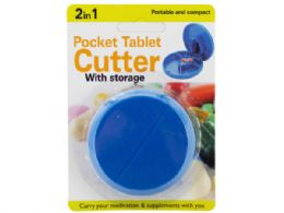 54 of 2 In 1 Pocket Tablet Cutter With Storage