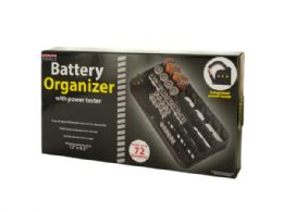 6 of Battery Organizer With Power Tester