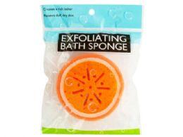72 of Fruit Shape Exfoliating Bath Sponge