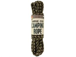 24 of Camouflage Camping Rope