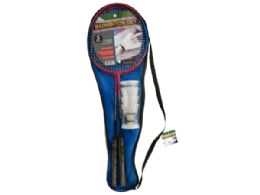 12 of Badminton Set With Carry Bag