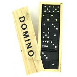 90 of Domino Set In Wooden Box