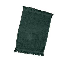 240 of Fingertip Towel Fringed Ends In Forest Green