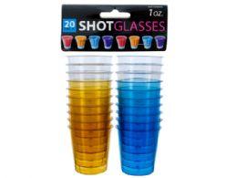 72 of 1 Oz. Clear Plastic Shot Glasses