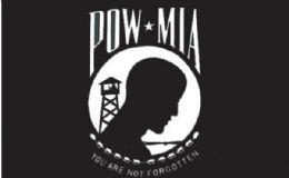 24 of Pow Mia You Are Not Forgotten Flag