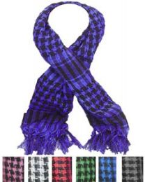 72 of Middle Eastern Assorted Color Scarves