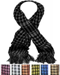 12 of Middle Eastern Assorted Color Scarves