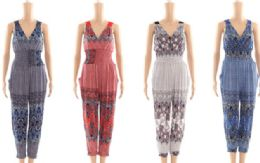 48 of Womens Fashion Summer Romper In Assorted Sizes